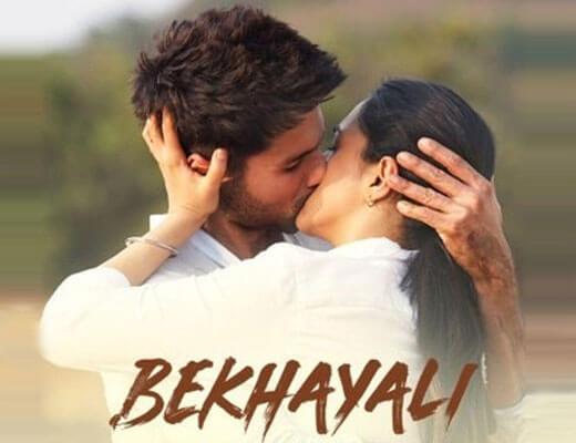 Bekhayali-–-Kabir-Singh---Lyrics-in-Hindi
