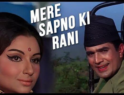 Mere-Sapno-Ki-Rani-Lyrics---Kishore-Kumar---Lyrics-in-Hindi
