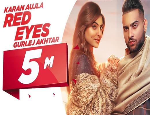 Red-Eyes---Karan-Aujla---Lyrics-In-Hindi