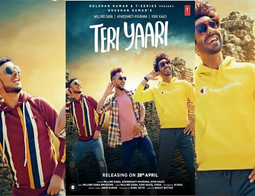 Teri-Yaari---Millind-Gaba---Lyrics-In-Hindi
