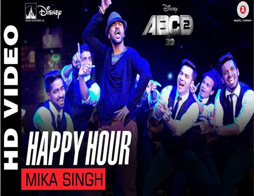 Happy-Hour---ABCD-2---Lyrics-In-Hindi