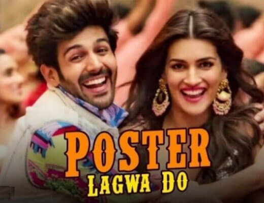 Poster Lagwa Do - Luka Chuppi - Lyrics in Hindi