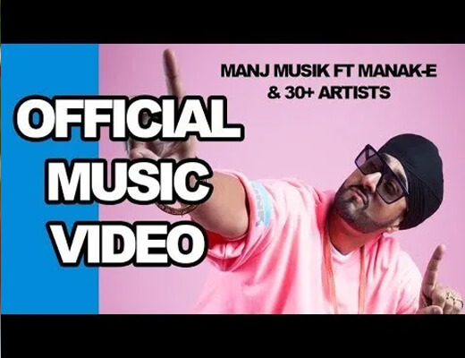 Social-Disdancing---Manj-Musik-&-Manak-E----Lyrics-In-Hindi