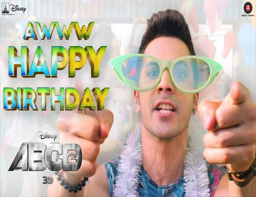 Tera-Happy-Birthday---ABCD-2---Lyrics-In-Hindi