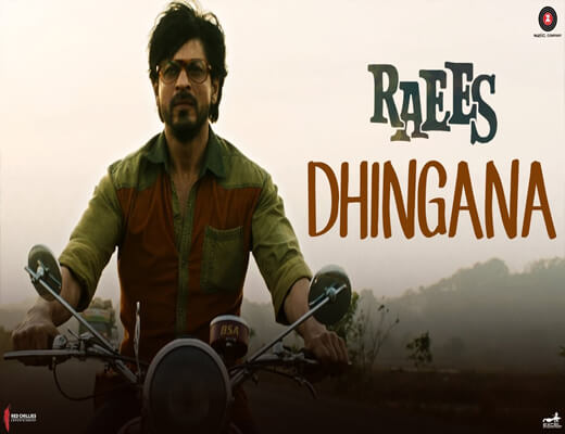 Dhingana---Raees---Lyrics-In-Hindi