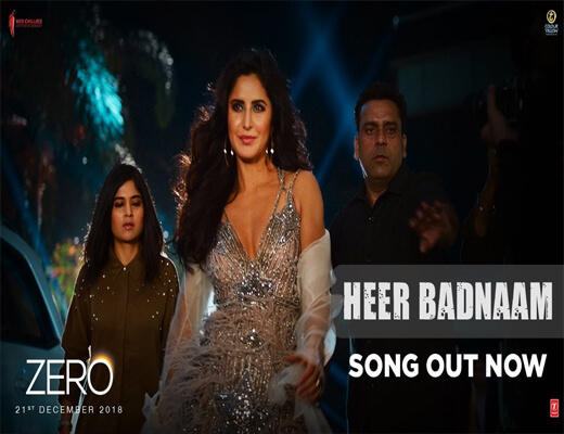 Heer-Badnaam---Zero---Lyrics-In-Hindi