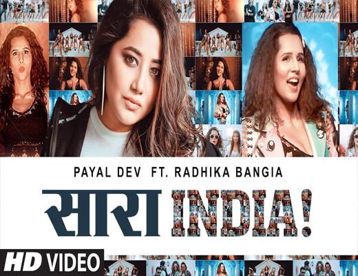 Saara-India---Payal-Dev---Lyrics-In-Hindi