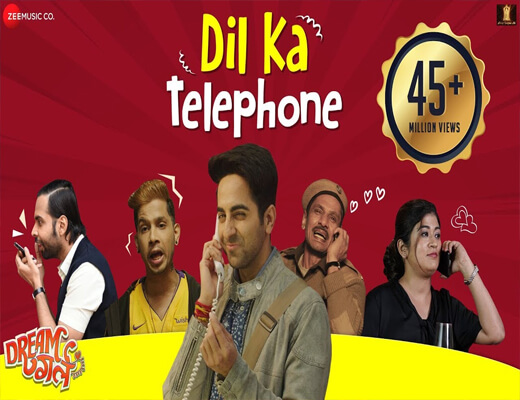 Dil-Ka-Telephone---Dream-Girl---Lyrics-In-Hindi