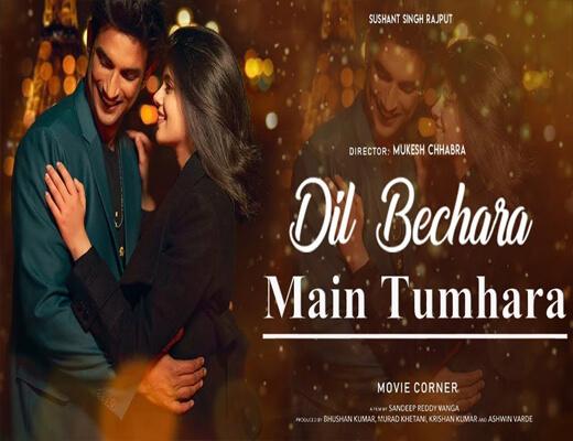 Main-Tumhara---Dil-Bechara---Lyrics-In-Hindi