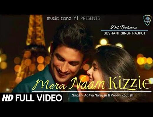 Mera-Naam-Kizzie---Dil-Bechara---Lyrics-In-Hindi