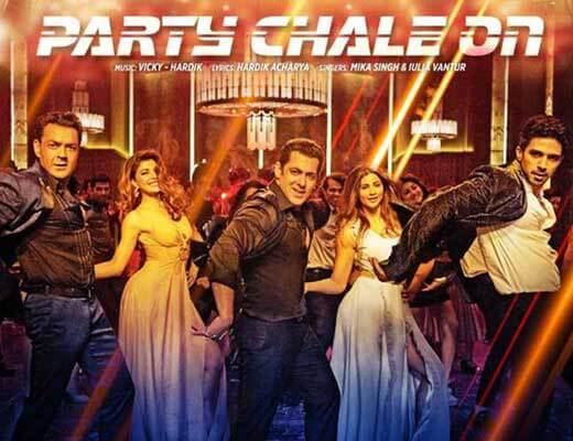 Party Chale On - Race 3 - Lyrics in Hindi