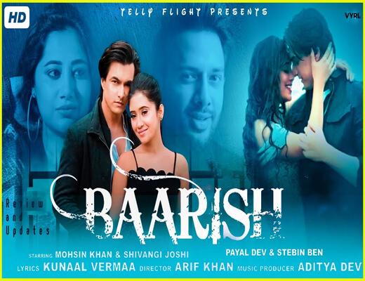 Baarish---Stebin-Ben---Lyrics-In-Hindi