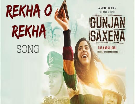 Rekha-O-Rekha---Gunjan-Saxena---Lyrics-In-Hindi