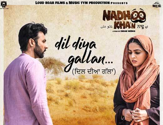 Dil Diya Gallan - Nadhoo Khan - Lyrics in Hindi