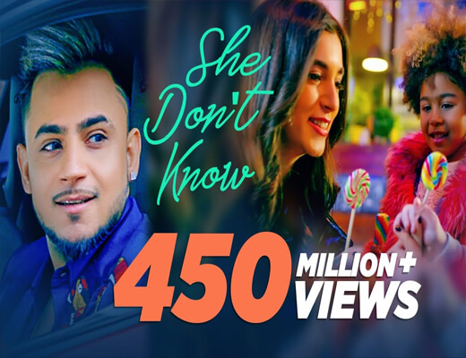 She-Don't-Know---Millind-Gaba---Lyrics-In-Hindi