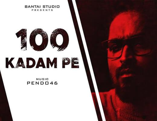 100 KADAM PE – Emiway Bantai - Lyrics in Hindi