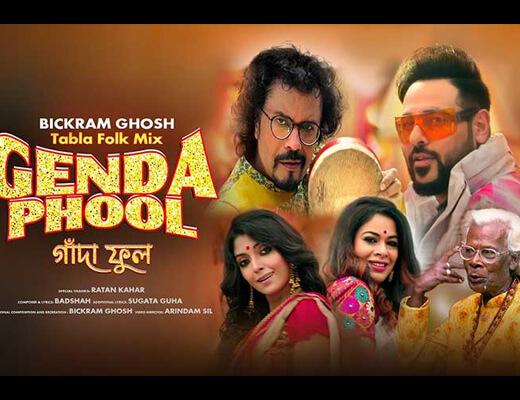 Genda Phool Tabla Folk Mix – Badshah - Lyrics in Hindi