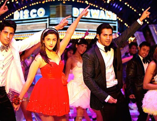 The Disco Song - Student of The Year - Lyrics in Hindi