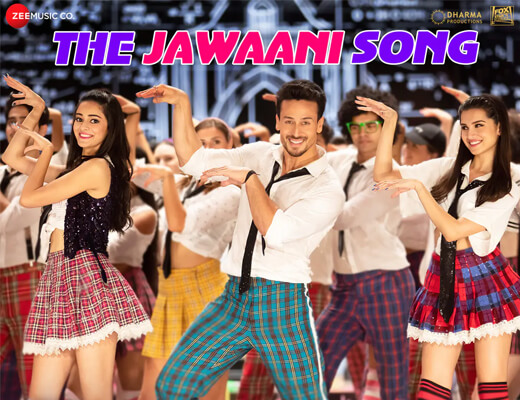 The Jawaani Song - Student Of The Year 2 - Lyrics in hindi