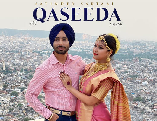 Qaseeda – Satinder Sartaaj - Lyrics in Hindi