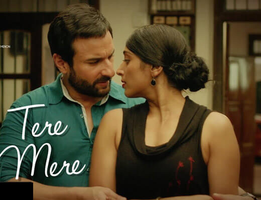 Tere Mere - Chef - Lyrics in Hindi