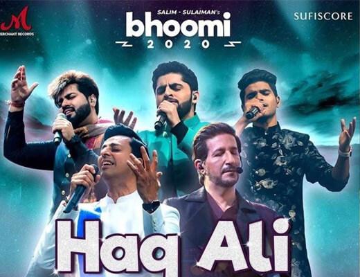 Haq Ali – Salim Merchant, Salman Ali, Vipul, Raj - Lyrics in Hindi