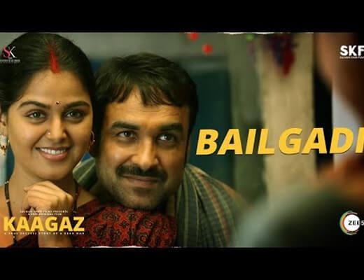 Bailgadi-–-Kaagaz---Lyrics-in-Hindi