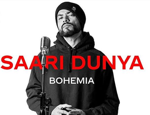 Saari Dunya – Bohemia - Lyrics in Hindi