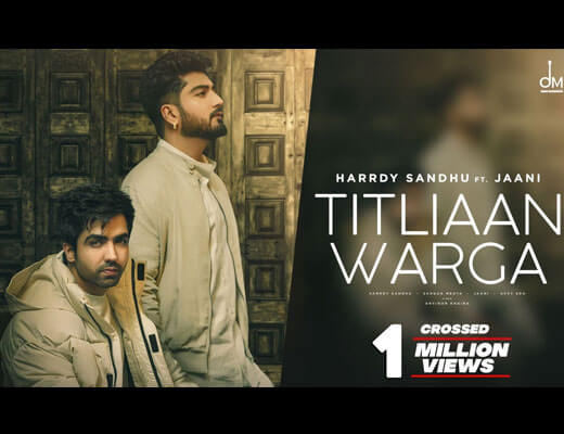 Titliaan Warga – Harrdy Sandhu - Lyrics in Hindi