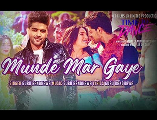 Munde Mar Gaye – Time to Dance - Lyrics in Hindi