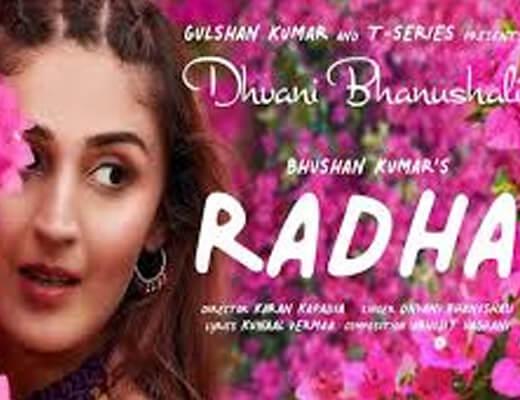 Radha – Dhvani Bhanushali - Lyrics in Hindi
