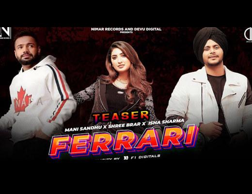 Ferrari Hindi Lyrics – Mani Sandhu, Simar Kaur