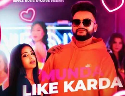 Munda Like Karda Hindi Lyrics – Gurj Sidhu