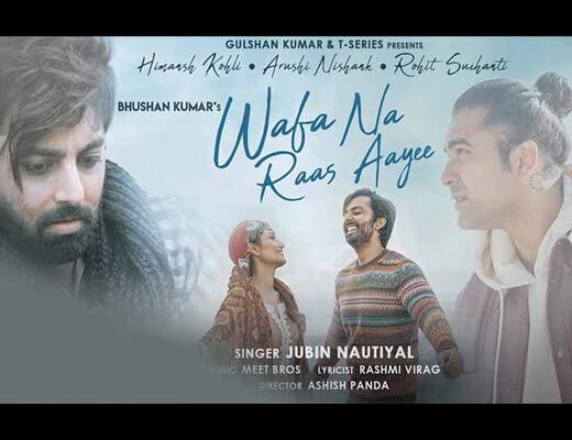 Wafa Na Raas Aayee Hindi Lyrics – Jubin Nautiyal
