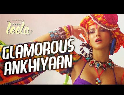 Glamorous Ankhiyaan Hindi Lyrics - ek paheli leela