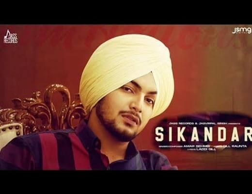 Sikandar Hindi Lyrics – Amar Sehmbi