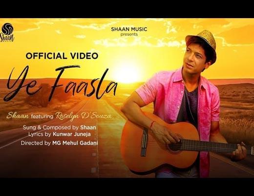 Ye Faasla Hindi Lyrics – Shaan