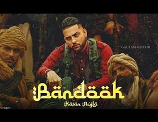 Bandook Hindi Lyrics – Karan Aujla