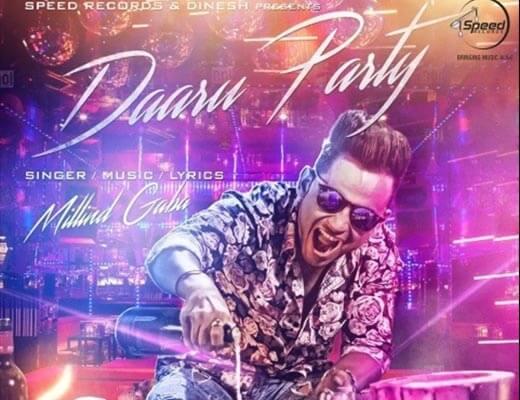 Daaru Party Hindi Lyrics - Millind Gaba
