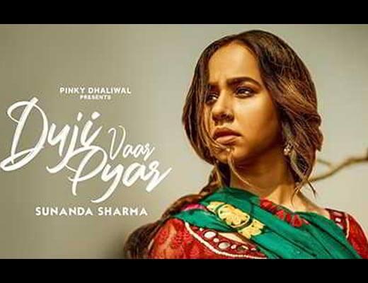 Duji Vaar Pyar Hindi Lyrics - Sunanda Sharma, Jaani
