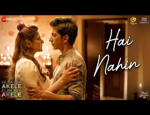 Hai Nahin Hindi Lyrics - Hum Bhi Akele Tum Bhi Akele