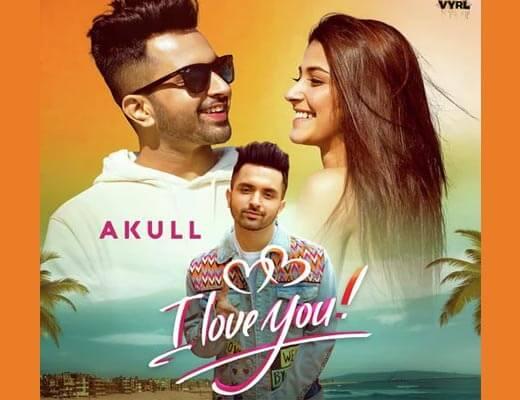 I Love You Hindi Lyrics (2021) – Akull