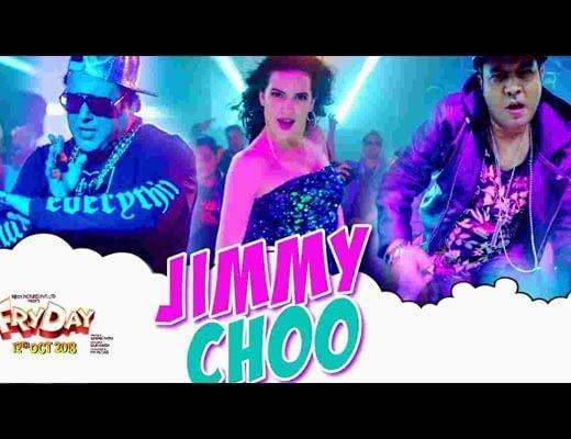 Jimmy Choo Hindi Lyrics – Fryday