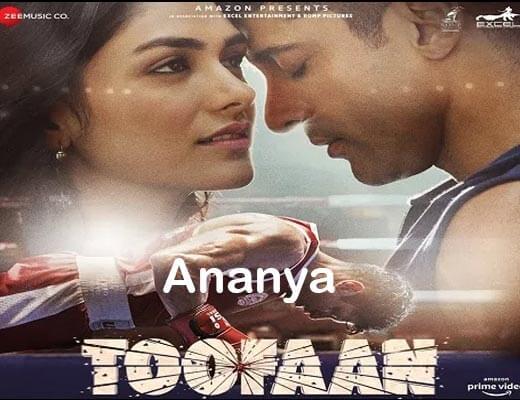 Ananya Hindi lyrics – Toofaan Arijit Singh