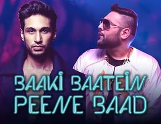 Baaki Baatein Peene Baad Hindi Lyrics - Arjun Kanungo