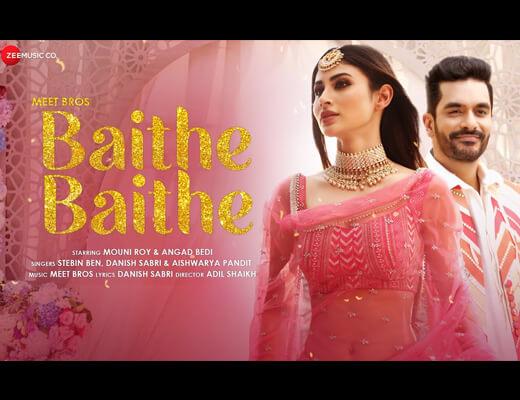 Baithe Baithe Hindi Lyrics – Stebin Ben