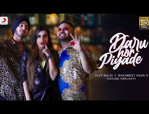 Daru Hor Piyade Hindi Lyrics – Deep Kalsi