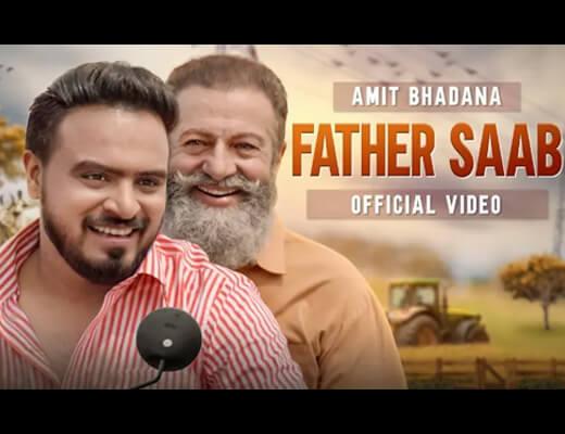 Father Saab Hindi Lyrics – King, Amit Bhadana