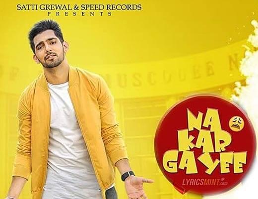 Na Kar Gayee Hindi Lyrics - Jump 2 Bhangraaa