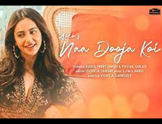 Naa Dooja Koi Hindi Lyrics – Arko, Jyotica Tangri